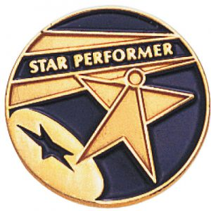 Star Performer Awards Pin