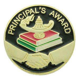 Principal's Award Pin