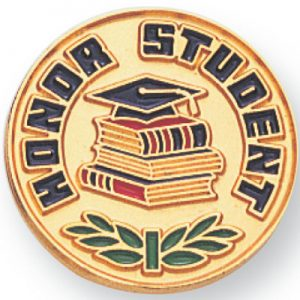 Honor Student Award Pin