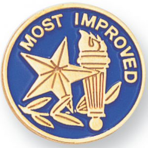 Most Improved Award Pin