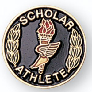 Scholar Athlete Award Pin